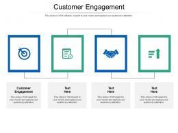 Customer Engagement Ppt Powerpoint Presentation Portfolio Designs Download Cpb
