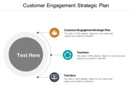 Customer Engagement Strategic Plan Ppt Powerpoint Presentation Model Graphics Design Cpb