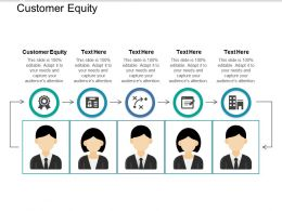 Customer Equity Ppt Powerpoint Presentation Slides Elements Cpb