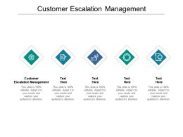 Customer Escalation Management Ppt Powerpoint Presentation Summary Backgrounds Cpb