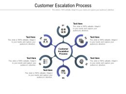 Customer Escalation Process Ppt Powerpoint Presentation Infographics Template Cpb