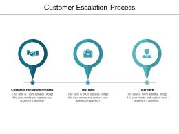 Customer Escalation Process Ppt Powerpoint Presentation Portfolio Examples Cpb