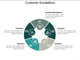 Customer Escalations Ppt Powerpoint Presentation Ideas Topics Cpb