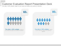 Customer Evaluation Report Presentation Deck