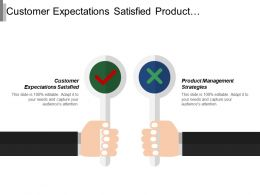 Customer Expectations Satisfied Product Management Strategies Product Differentiation
