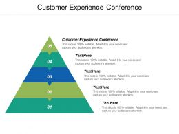 Customer Experience Conference Ppt Powerpoint Presentation Icon Summary Cpb