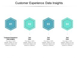 Customer Experience Data Insights Ppt Powerpoint Presentation Summary Cpb