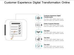 Customer Experience Digital Transformation Online Customer Reviews Cpb