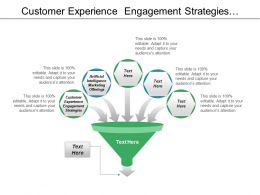 Customer Experience Engagement Strategies Artificial Intelligence Marketing Offerings Cpb