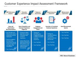 Customer Experience Impact Assessment Framework
