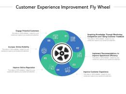 Customer Experience Improvement Fly Wheel