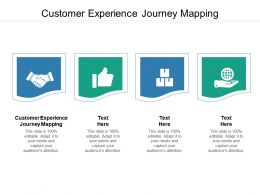 Customer Experience Journey Mapping Ppt Powerpoint Presentation Icon Inspiration Cpb