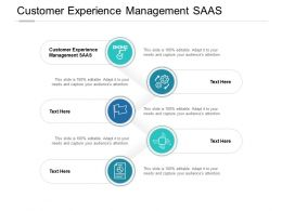 Customer Experience Management SAAS Ppt Powerpoint Presentation File Cpb
