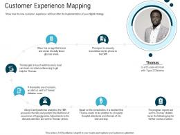 Customer Experience Mapping Digital Healthcare Planning And Strategy Ppt Microsoft