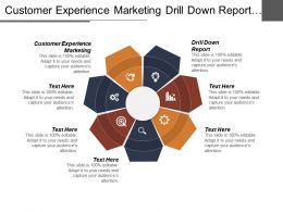 Customer Experience Marketing Drill Down Report Email Marketing Solutions Cpb