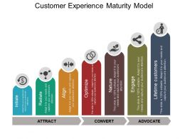 Customer Experience Maturity Model Powerpoint Presentation