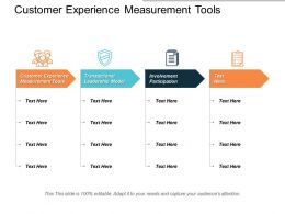 Customer Experience Measurement Tools Transactional Leadership Model Involvement Participation Cpb