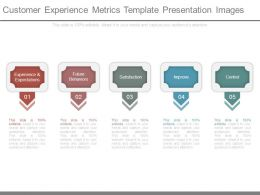 Customer Experience Metrics Template Presentation Images