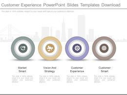 Customer Experience Powerpoint Slides Templates Download