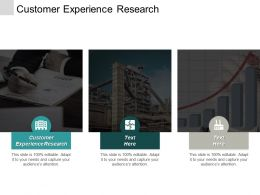 Customer Experience Research Ppt Powerpoint Presentation Portfolio Designs Download Cpb