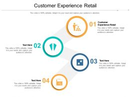 Customer Experience Retail Ppt Powerpoint Presentation Layouts Graphics Cpb