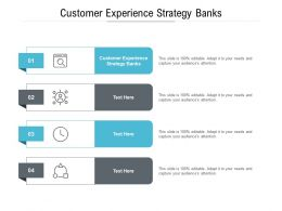 Customer Experience Strategy Banks Ppt Powerpoint Presentation Professional Graphics Download Cpb