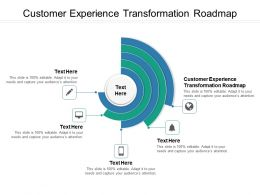 Customer Experience Transformation Roadmap Ppt Powerpoint Presentation Outline Templates Cpb