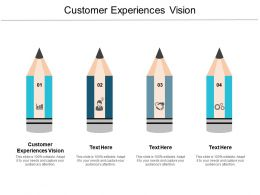 Customer Experiences Vision Ppt Powerpoint Presentation Infographics Background Images Cpb