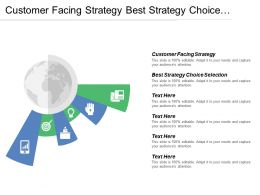 Customer Facing Strategy Best Strategy Choice Selection Strategy Positioning Gaps