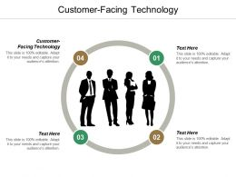 Customer Facing Technology Ppt Powerpoint Presentation Infographic Template Icon Cpb