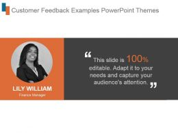 Customer Feedback Examples Powerpoint Themes
