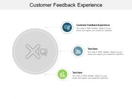 Customer Feedback Experience Ppt Powerpoint Presentation Icon Guide Cpb