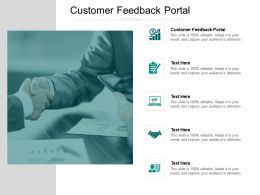 Customer Feedback Portal Ppt Powerpoint Presentation Layouts Example Cpb