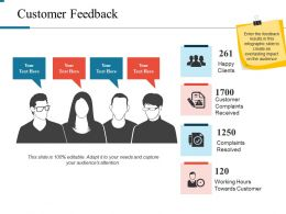 Customer Feedback Powerpoint Slide Presentation Tips