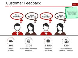 Customer Feedback Ppt Background Graphics
