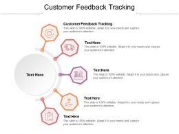 Customer Feedback Tracking Ppt Powerpoint Presentation Styles Picture Cpb