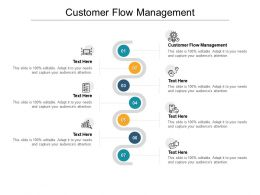 Customer Flow Management Ppt Powerpoint Presentation File Portfolio Cpb