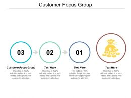 Customer Focus Group Ppt Powerpoint Presentation File Themes Cpb