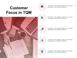 Customer Focus In Tqm Technology Ppt Powerpoint Presentation Portfolio Show