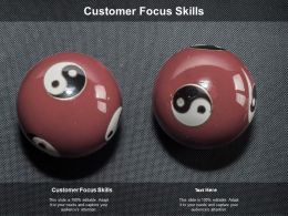 Customer Focus Skills Ppt Powerpoint Presentation Model Skills Cpb