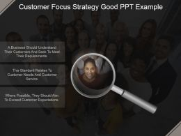 Customer Focus Strategy Good Ppt Example