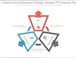 Customer Focused Business Strategy Template Ppt Example File