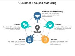 Customer Focused Marketing Ppt Powerpoint Presentation Pictures Aids Cpb