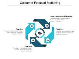 Customer Focused Marketing Ppt Powerpoint Presentation Slides Show Cpb