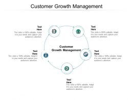 Customer Growth Management Ppt Powerpoint Presentation Styles Background Cpb