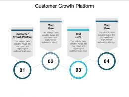 Customer Growth Platform Ppt Powerpoint Presentation Infographics Model Cpb