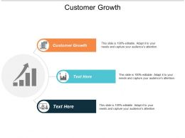 Customer Growth Ppt Powerpoint Presentation Slides Show Cpb