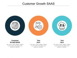 Customer Growth SAAS Ppt Powerpoint Presentation Gallery Good Cpb