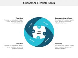Customer Growth Tools Ppt Powerpoint Presentation Outline Clipart Cpb