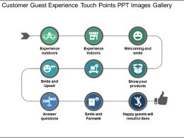Customer Guest Experience Touch Points Ppt Images Gallery